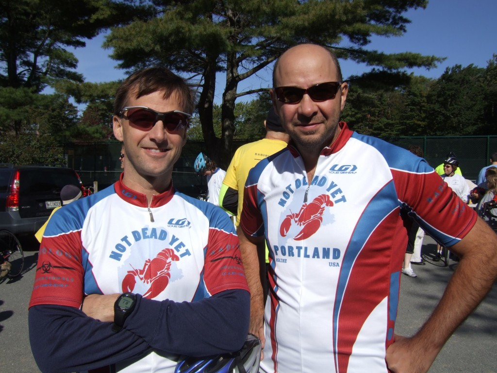 Chris Kuhn and Dave Landgon