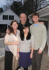 Anne Belden  family