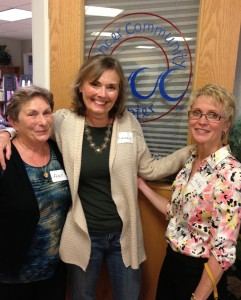 Fran Seeley, Diane Atwood and Lisa Hachey
