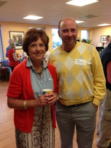 Michele Johns and Dr. Dave Langdon