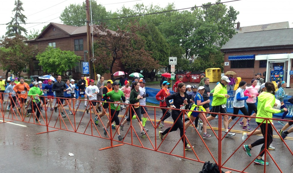Second leg of Vermont City Marathon and Relay