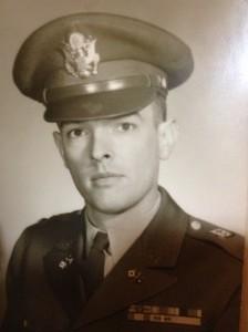 Robert Swett in uniform