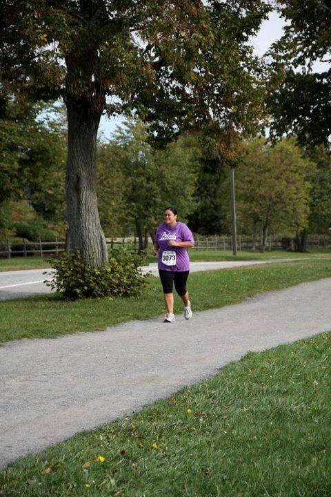 Running a half marathon in Maine