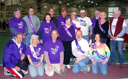 Gorham Cancer Prayer and Support Group at Relay for Life in Gorham
