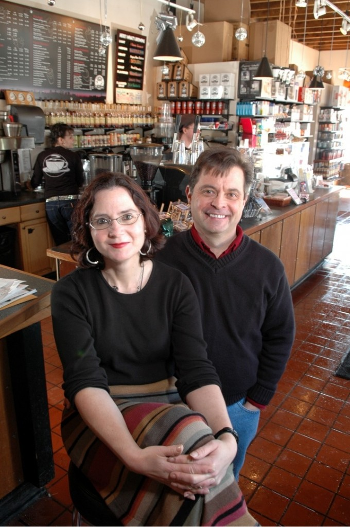 Mary Allen Lindemann and Alan Spear