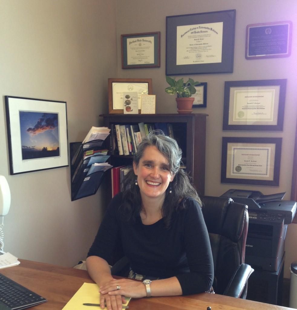 Dr. Sarah Kotzur, naturopathic doctor