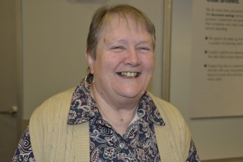 Linda Feeney, volunteer