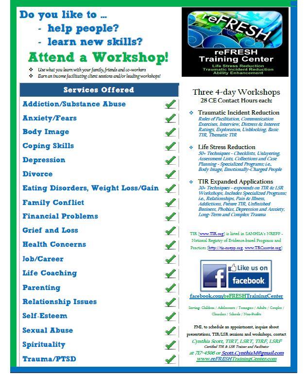 Workshop Info 2013-11