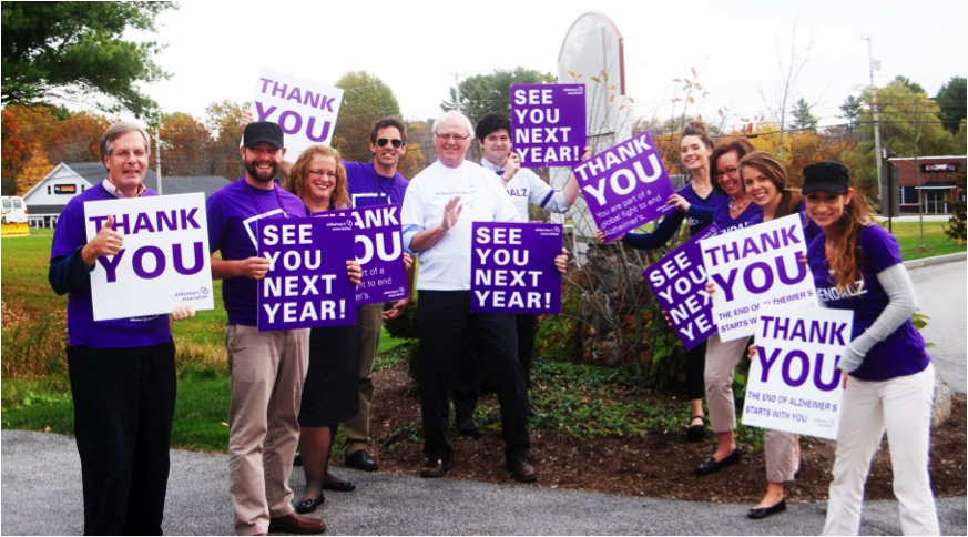 Walk to End Alzheimer's 2013 Maine Chapter