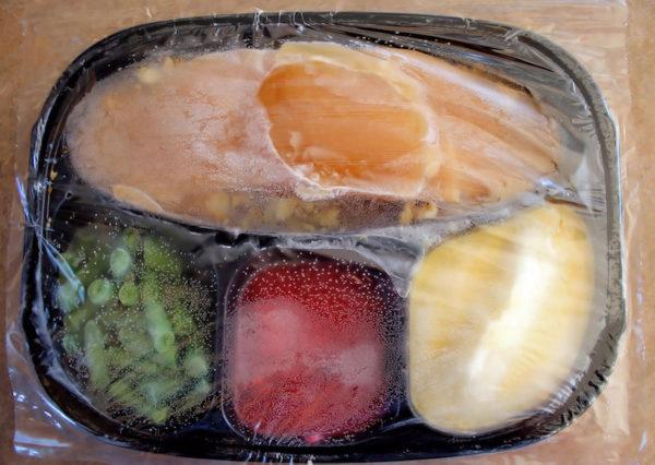 Frozen dinner/salt