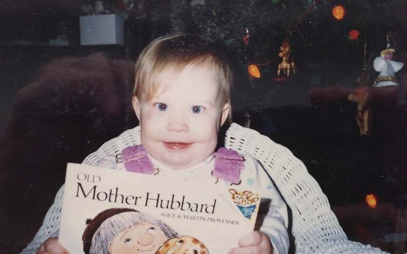 Stephanie's first birthday