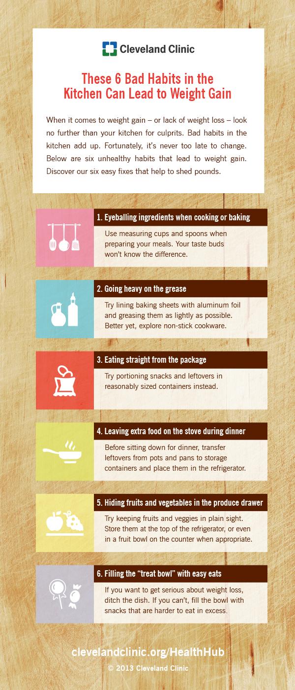 6-bad-kitchen-habits-Cleveland Clinic