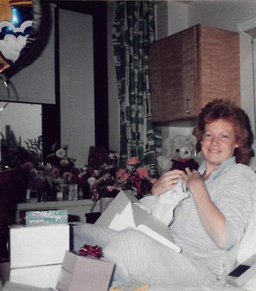 Ellen Munson after 1st kidney transplant