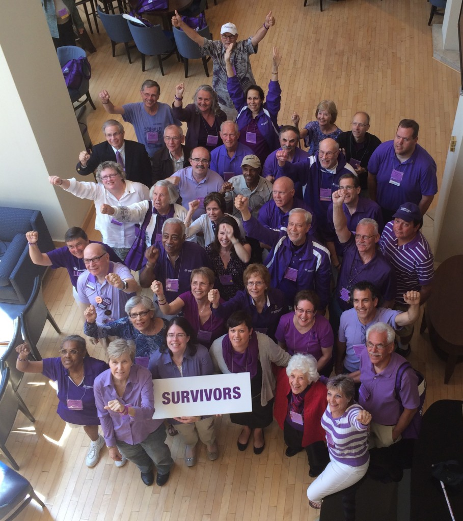 Survivors at Pancreatic Cancer Action Network Advocacy Day