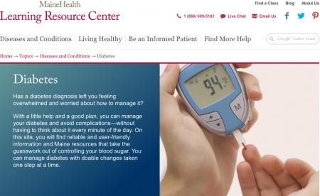 Screenshot Learning Resource Center