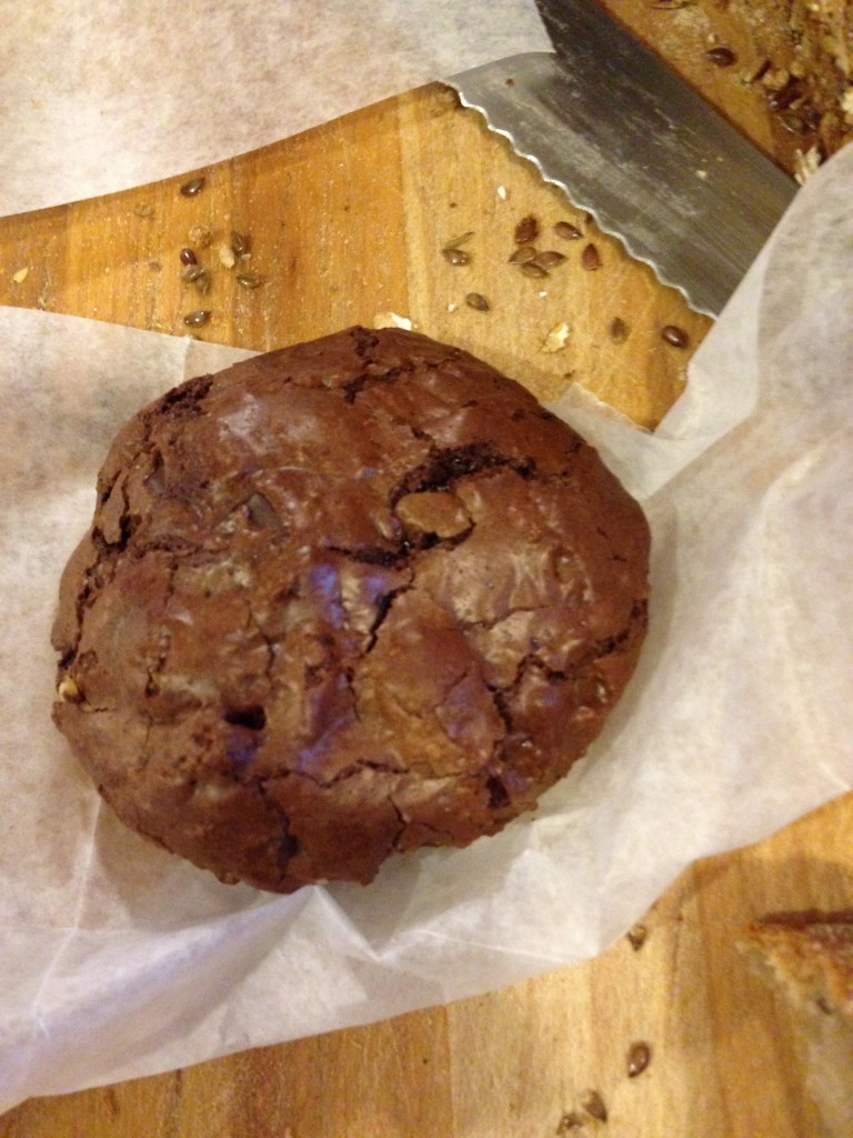 Chocolate rye cookie