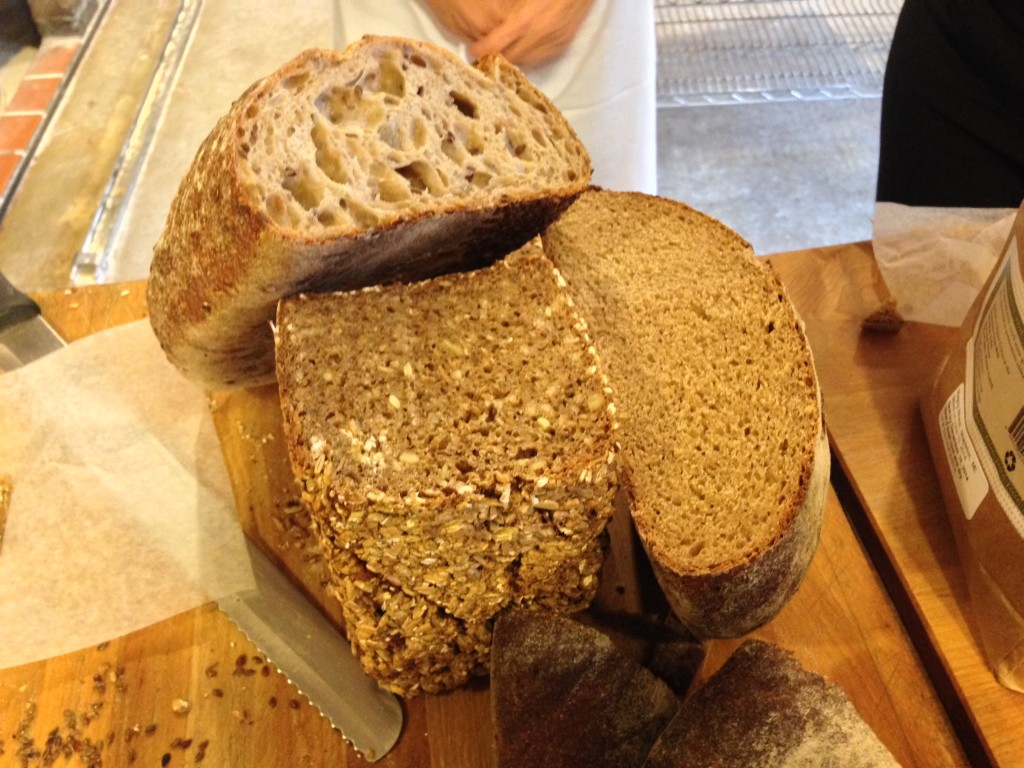 Three kinds of rye bread