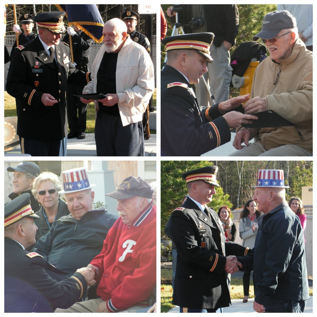 Veterans honored at Avita ceremony