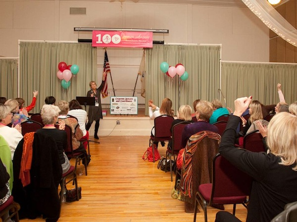 Women at 100+ Women Who Care Southern Maine