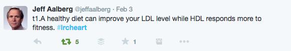 Dr. Allberg tweet