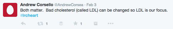 Dr. Corsello tweet