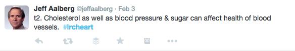 Dr. Aalberg tweet