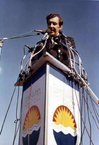 Ed Muskie at Earth Day 1970
