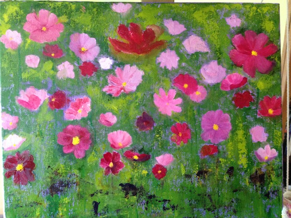 Cosmos painting