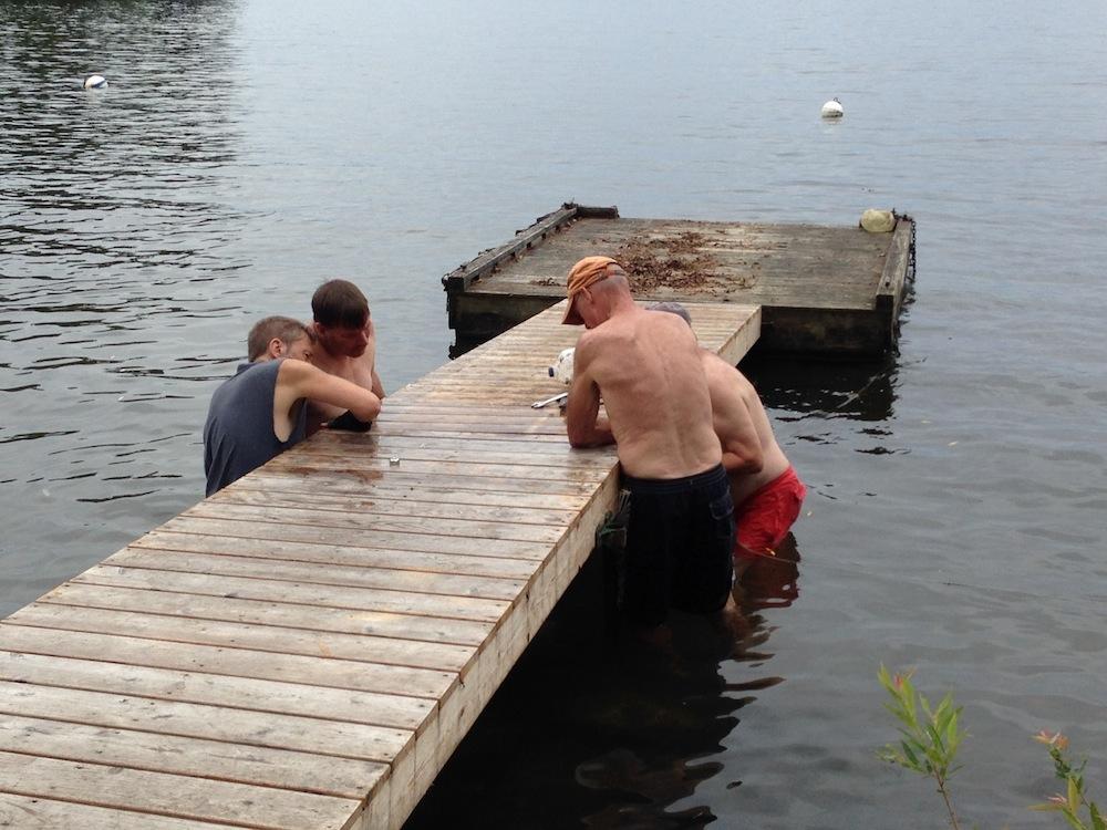 Dock at camp