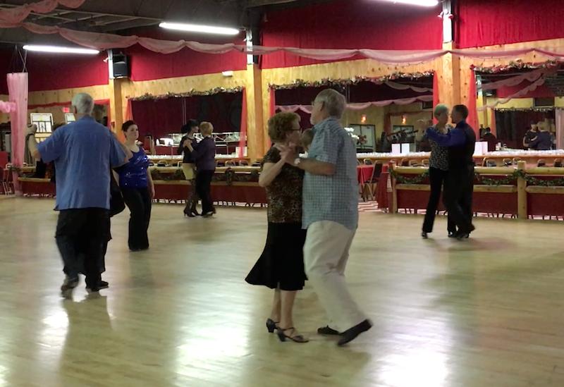 Joan and dance partner