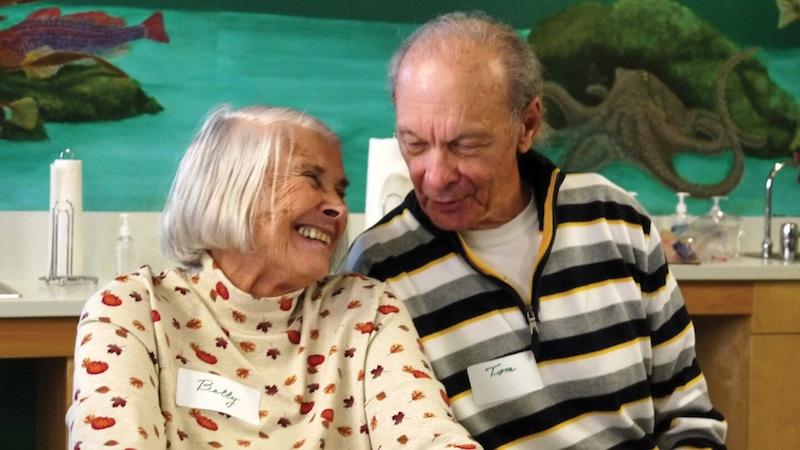 Alzheimer's Cafe attendees