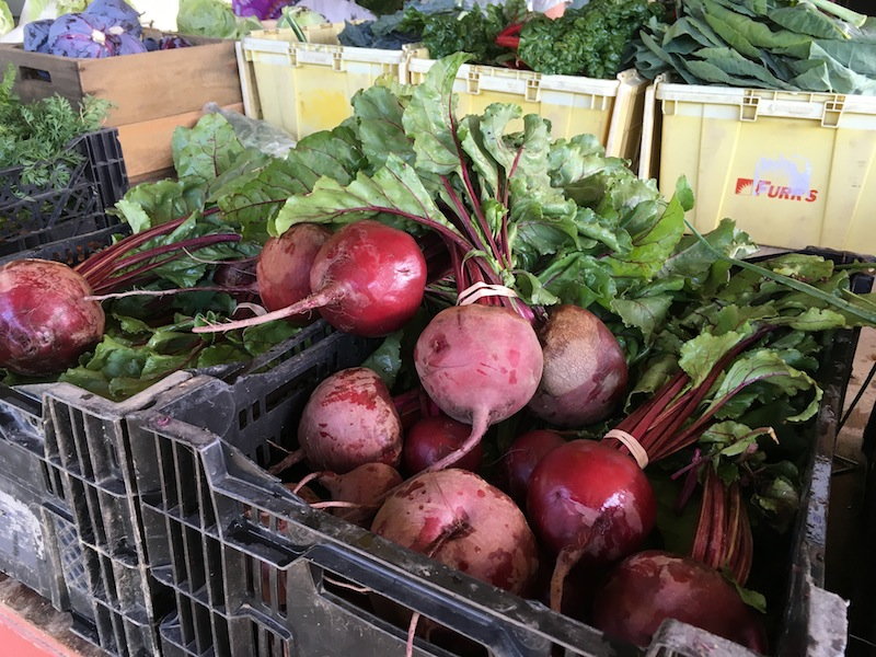 Beets from farm share