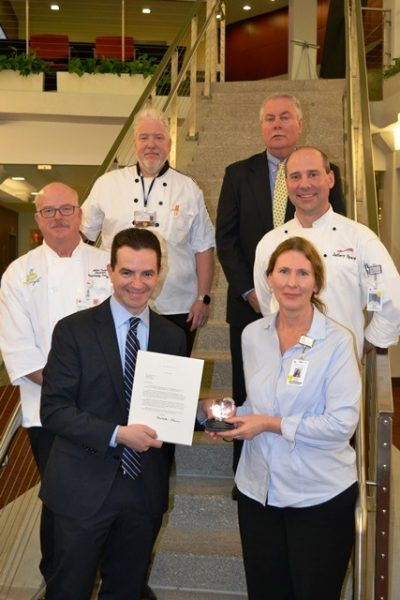 MaineHealth chefs receiving PHAaward