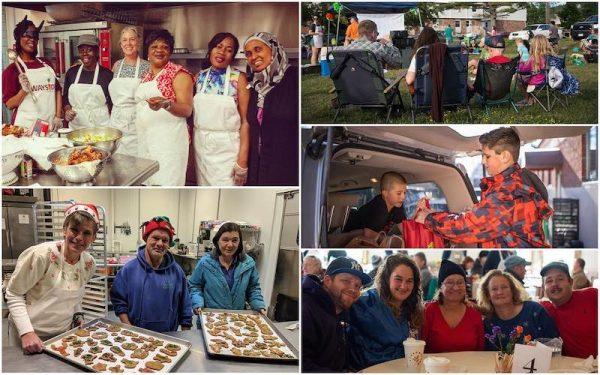 Volunteers at Wayside Food Programs
