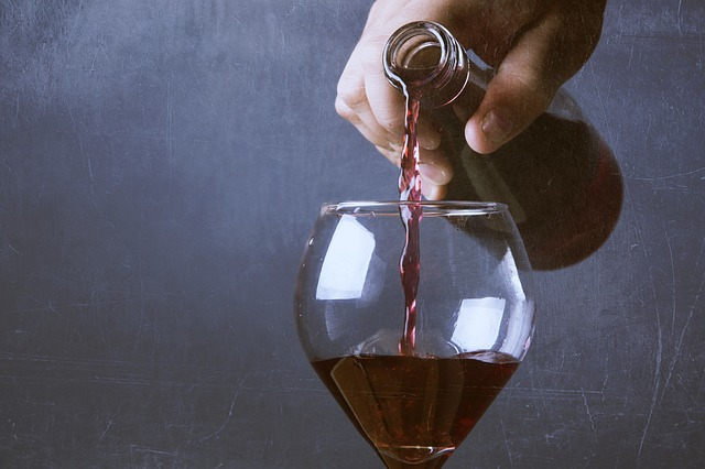 glass of wine/calories in alcohol