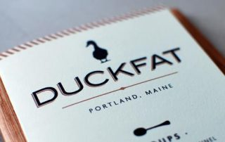 Duckfat menu