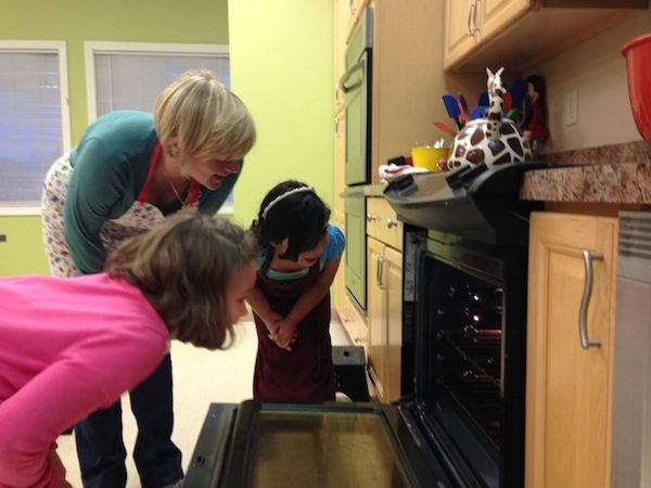 Kids cooking class with Michele Howard