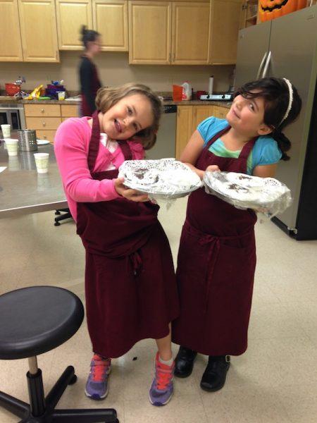 Kids in Cooking School