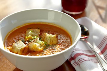Tomato fennel soup from Duckfat