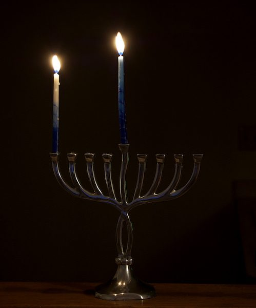 Menorah/Hanukkah/Latke recipe