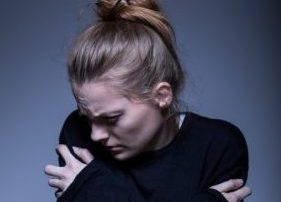 Young woman/food addiction/Pond5
