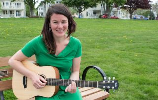 Kate Beever, music therapist