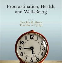 Cover of procrastination book by Dr. Timothy Pychyl