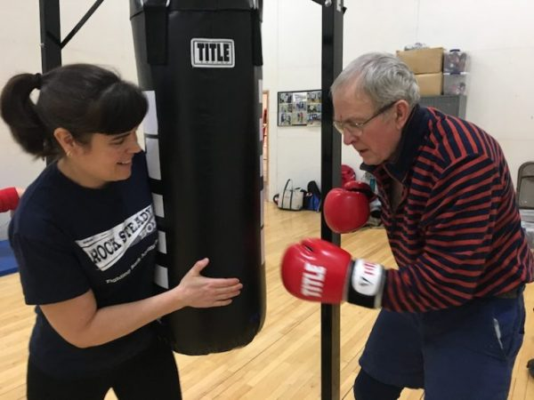 Jennifer Anderson/Rock Steady boxing