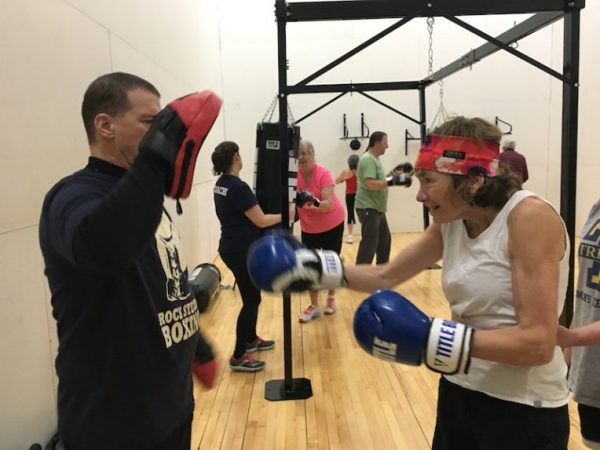 Laurie Hadlock Rock Steady Boxing