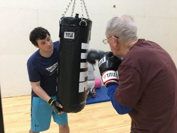 Zachary Hartman/Rock Steady Boxing