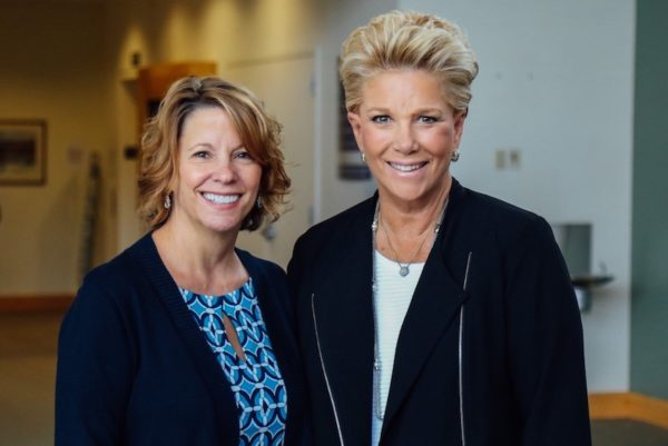 Daryl Cady and Joan Lunden
