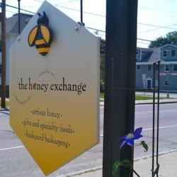 Honey Exchange sign