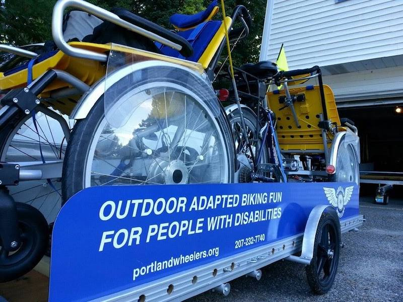 Portland Wheeler's adapted bike