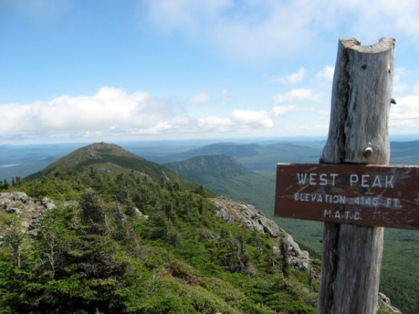 Appalachian Trail in Maine
